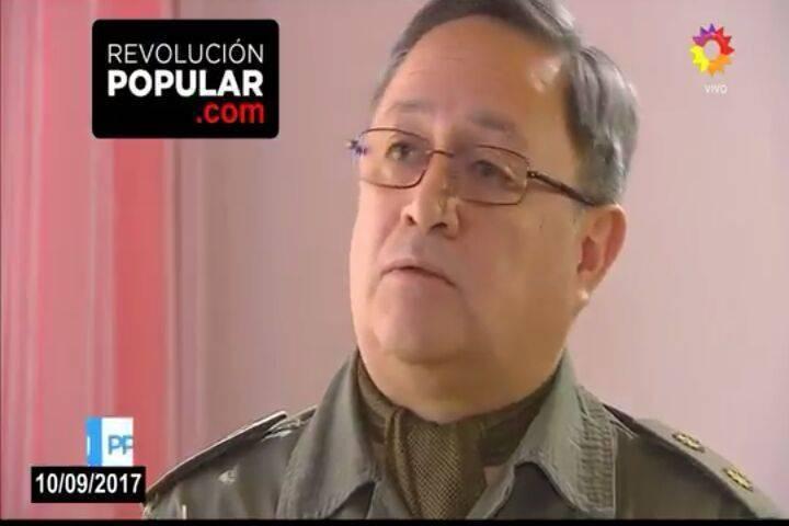 Habló con                                                         Lanata el jefe                                                         de Gendarmería                                                         de El Bolsón