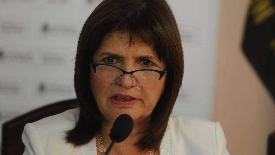 Patricia Bullrich| 'No vamos a permitir caras tapadas ni mochilas con piedras'